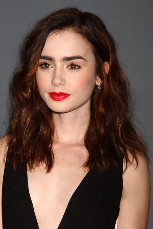 Lily Collins Clothes & Outfits | Steal Her Style