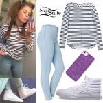Mahogany Lox: Skinny Jeans, White Hi-Tops