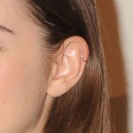 maia-mitchell-helix-piercing