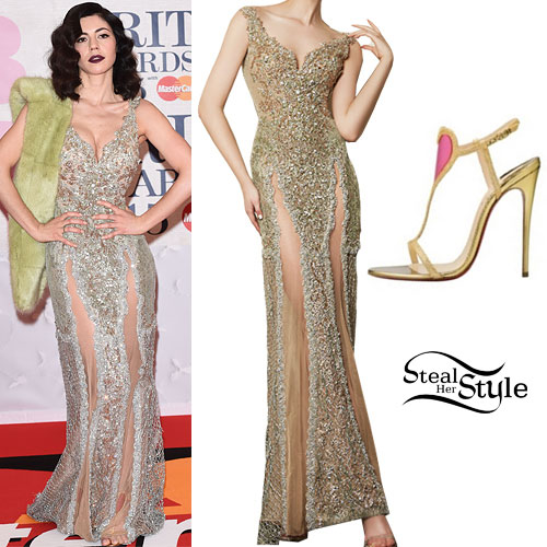 Marina Diamandis: 2015 Brit Awards Outfit