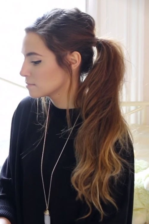 Brown hair with blonde ombre tumblr