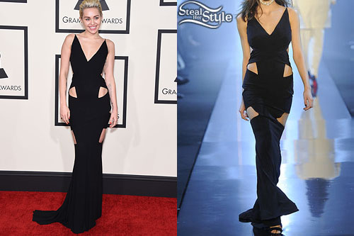 Miley Cyrus: 2015 GRAMMY Awards Outfit