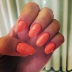 perrie-edwards-nails-orange