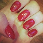 perrie-edwards-nails-red