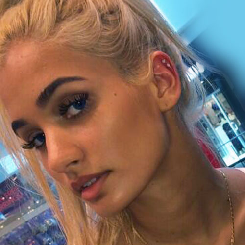 Pia Mia Perez Ear Lobe, Helix/Cartilage Piercing | Steal Her Style