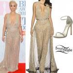 Rita Ora: 2015 BRIT Awards Outfit