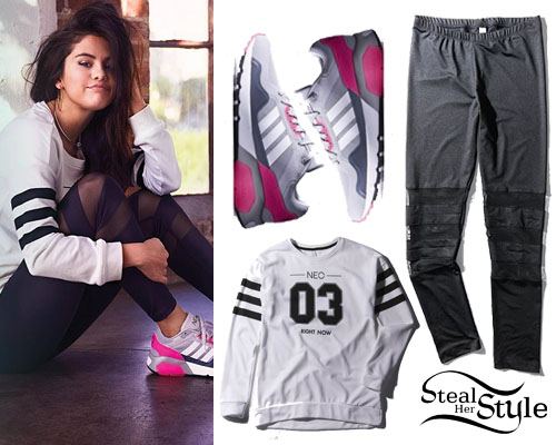 Selena Gomez for Adidas NEO's Spring/Summer 2015 Collection - photo: gomez-pictures