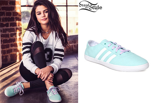 Selena Gomez for Adidas NEO's Spring/Summer 2015 Collection - photo: gomezgallery