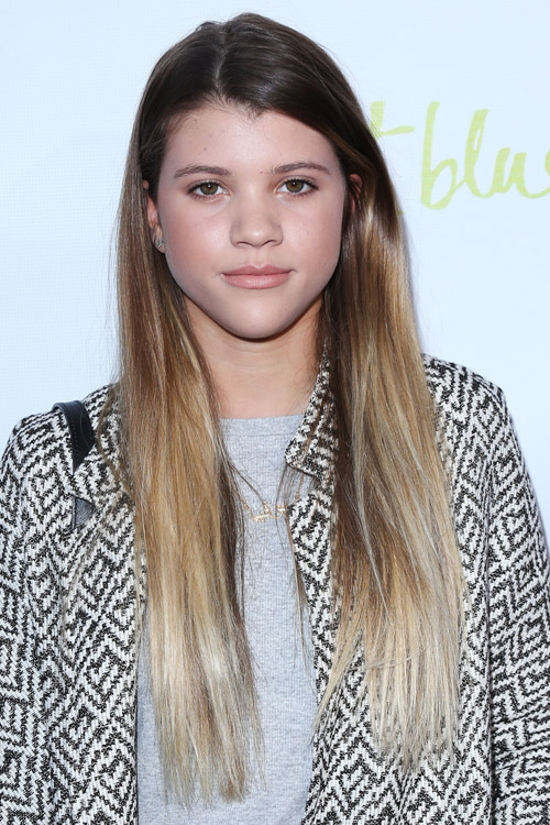 richie hair style sofia richie medium brown ombr 233 hairstyle 5684