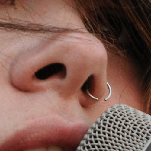 Tay Jardine Nose Nostril Piercing Steal Her Style