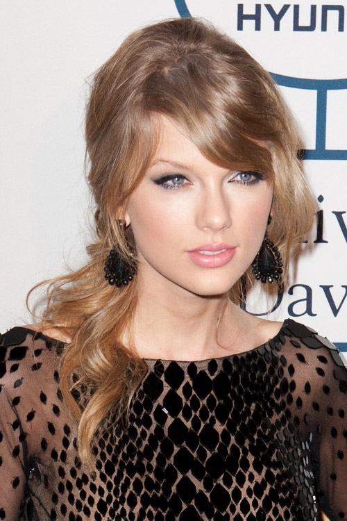 Taylor swift covergirl brown hair