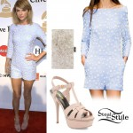 Taylor Swift: 2015 Pre-Grammy Gala Outfit