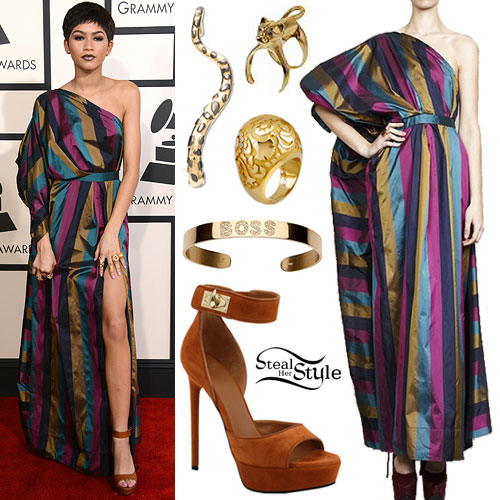 Zendaya: 2015 Grammy Awards Outfit