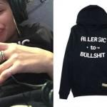 Zendaya: 'Allergic To Bullshit' Hoodie