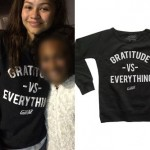 Zendaya: 'Gratitude vs Everything' Top
