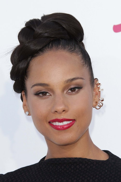 Alicia keys hairstyles have kept