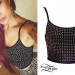Allison Green: Studded Bralet