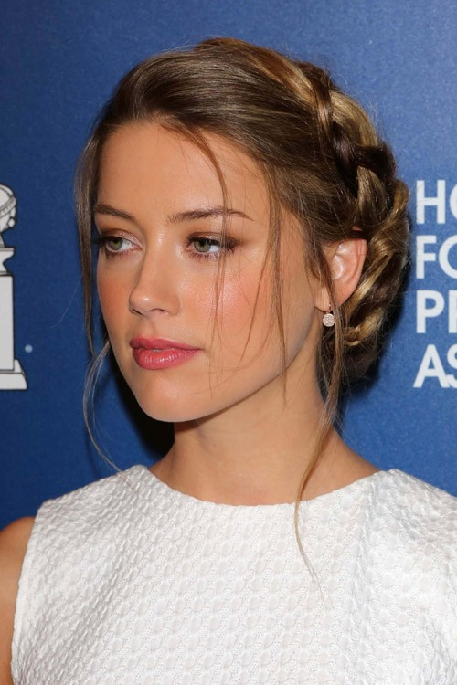Amber heards hairstyles hair colors steal her style sbukley bigstock sciox Image collections