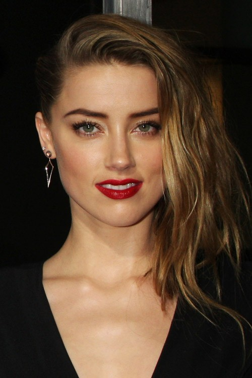 Amber heards hairstyles hair colors steal her style amber heard hair sciox Image collections