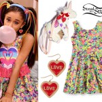 Ariana Grande: Jelly Bean Dress Outfit