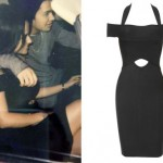 Becky G: Black Cutout Dress