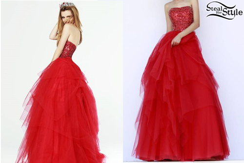 Bella Thorne: Sherri Hill Spring 2015 Collection | Steal Her Style