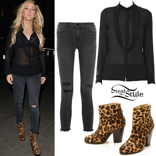 Ellie Goulding 39 S Fashion Clothes Outfits Steal Her Style