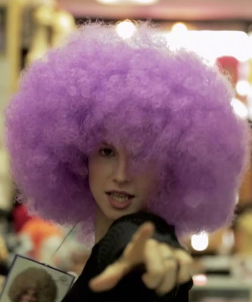 hayley williams purple hair - photo #3