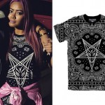 Honey Cocaine: Baphomet Bandana Tee