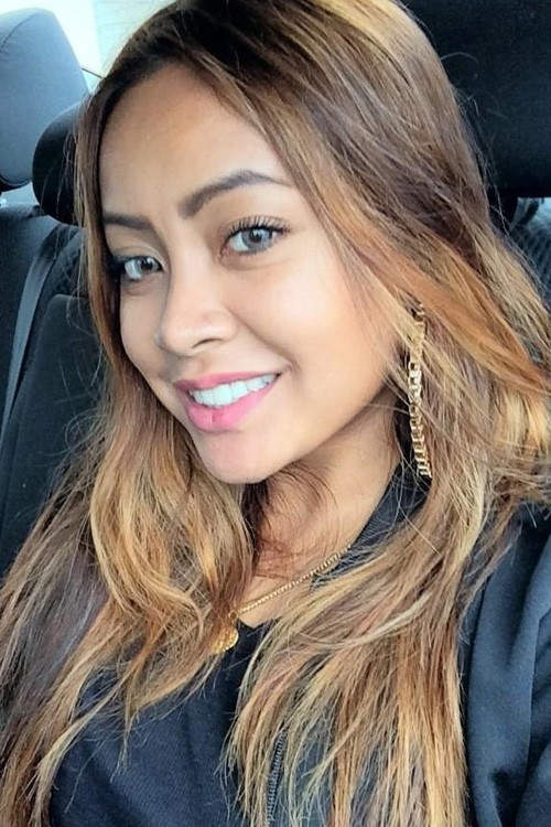 Honey Cocaine - 2017 Light Brown hair & alternative hair style. Current length:  long hair (bra strap length)