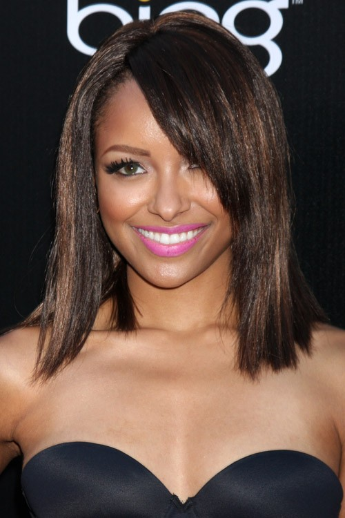 Kat Graham S Hairstyles Amp Hair Colors Steal Her Style