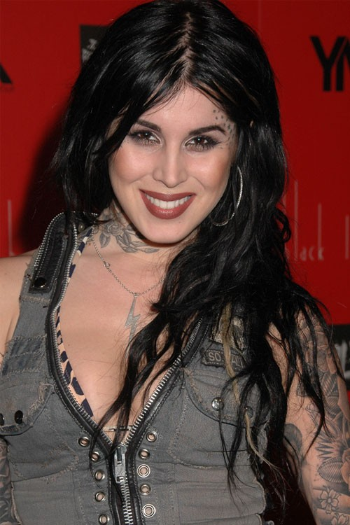 Kat Von D S Hairstyles Hair Colors Steal Her Style