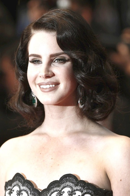 lana del rey hairstyle curls - photo #5