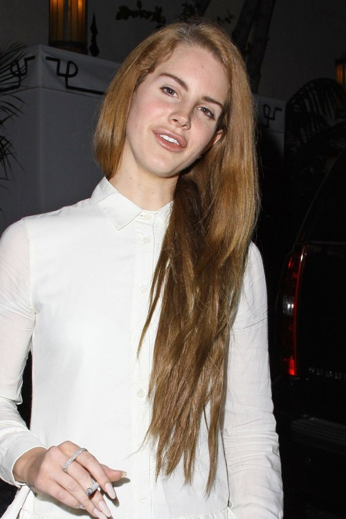 Lana Del Rey Hair Color 2013