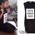 Leigh Anne Pinnock: 'Truth Amour Paris' Tunic