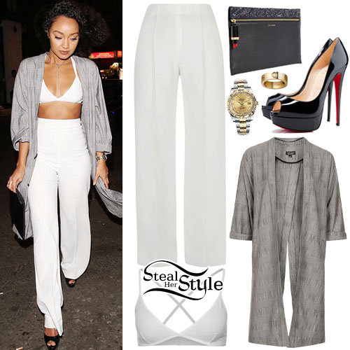 Leigh Anne Pinnock arriving at DSTRKT in London, March 20th, 2015 - photo: LM_Promo_News