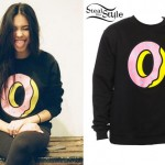 Madison Beer: Donut Sweatshirt