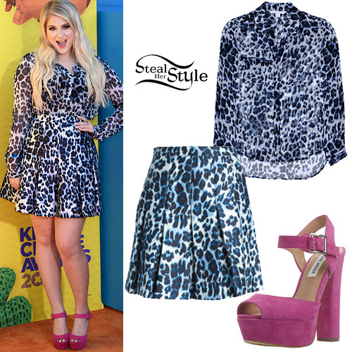 Meghan Trainor: 2015 Kids Choice Awards Outfit