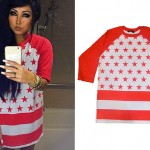 Melissa Marie Green: Red Star Raglan