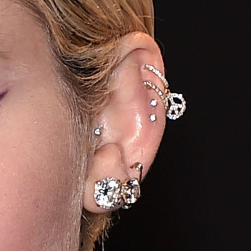 Miley Cyrus Piercings Jewelry Steal Her Style