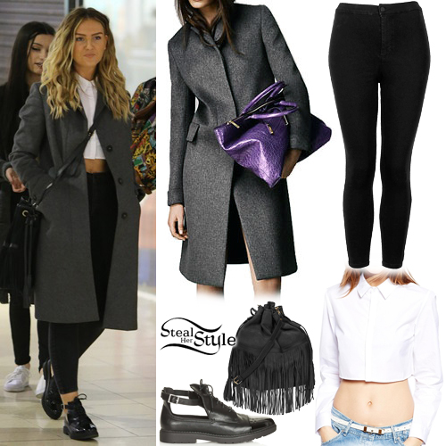 Perrie Edwards shopping in North London. March 30th, 2015 - photo: little-mix.org