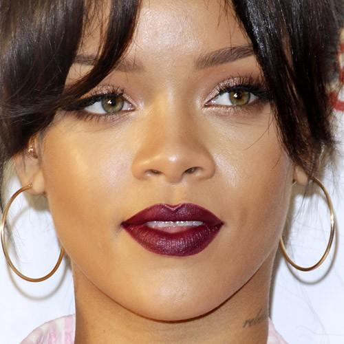Rihanna Makeup: Brown ... Rihanna Makeup