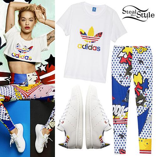 Rita Ora: Adidas Super Pack Leggings
