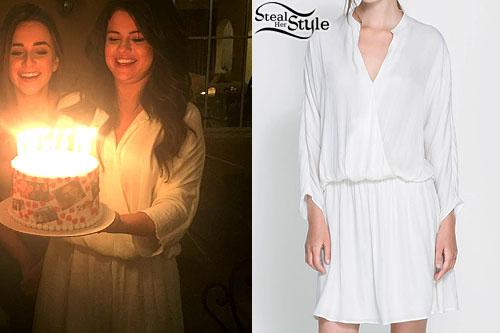 Selena Gomez celebrating Raquelle Stevens' Birthday, March 14th, 2015 - photo: twitter
