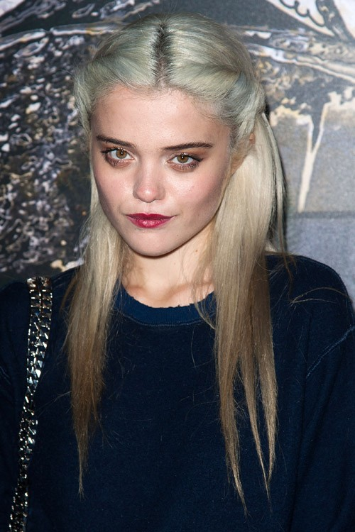 Sky Ferreira Straight Platinum Blonde Ombr 233 Twists