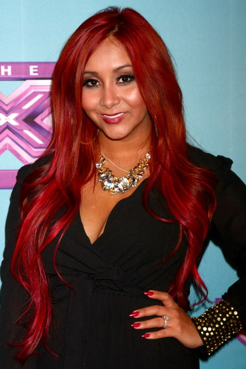 Super Snooki Nicole Polizzi39S Hairstyles Amp Hair Colors Steal Her Style Short Hairstyles Gunalazisus