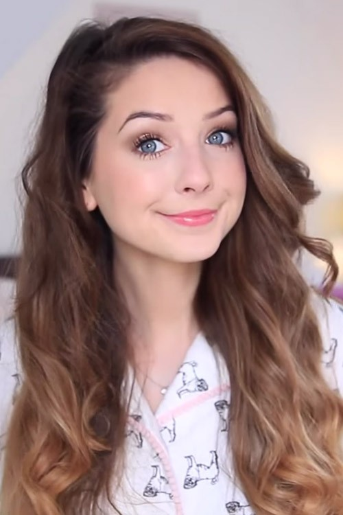 Zoella Wavy Medium Brown Loose Waves, Ombr? Hairstyle Steal Her ...