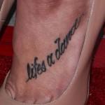 Ashley Greene Tattoos