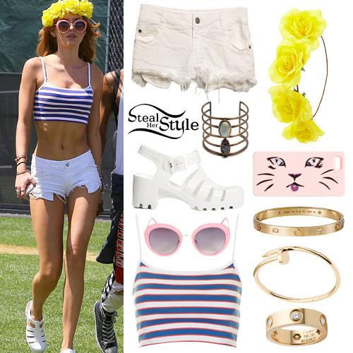 Bella Thorne at Coachella Music & Arts Festival, Day 1, April 10th, 2015 - photo: bellathorneonline