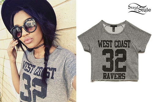 China McClain: 'West Coast Ravers' Tee